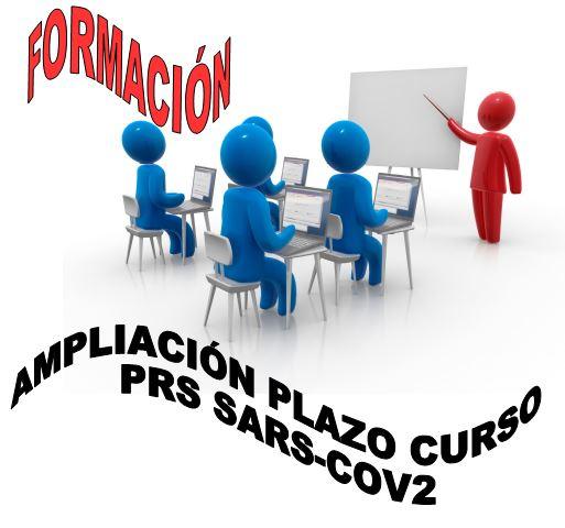 AMPLIACIÓN PLAZO CURSO PRS SARS-COV-2