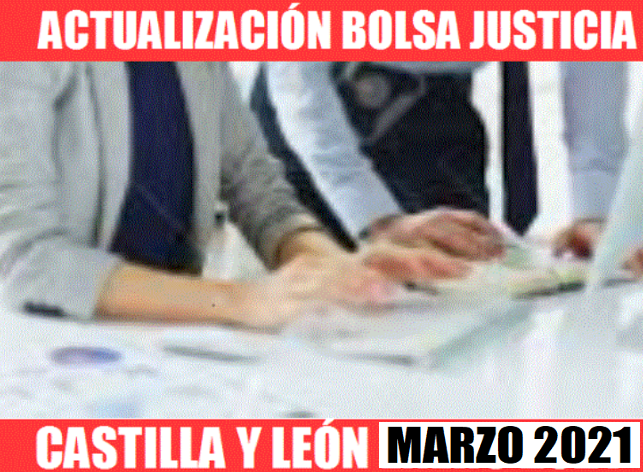 BOLSA C Y L BURGOS- MARZO 2021