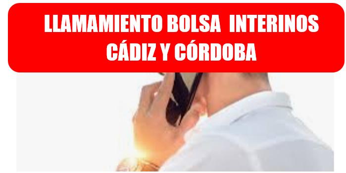 LLAMAMIENTO PORTAL ADRIANO - CÁDIZ Y CÓRDOBA