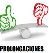 PROLONGACIONES DE JORNADA INSTANCIAS Y SOCIALES