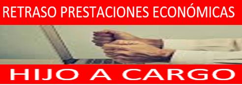 NOTA INFORMATIVA PRESTACIONES ECONÓMICAS: HIJO A CARGO CON DISCAPACIDAD  - RETRASO PAGO MES DICIEMBRE