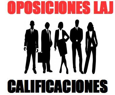 OPOSICIONES LAJ: CALIFICACIONES JULIO 2020 Y FECHA PROVISIONAL TERCER EJERCICIO CASO PRACTICO