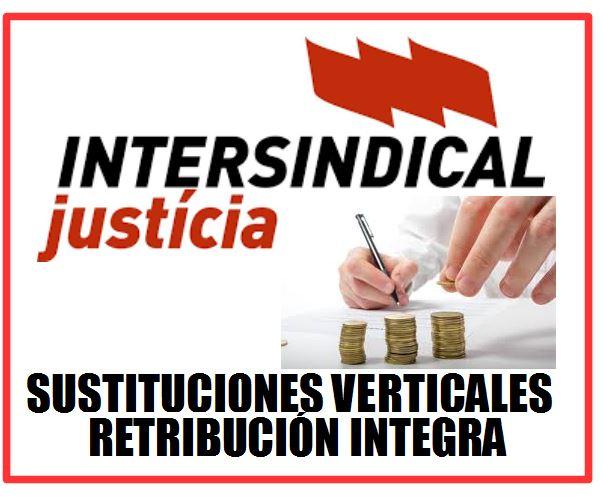 SUSTITUCIONES= RETRIBUCIÓN INTEGRA